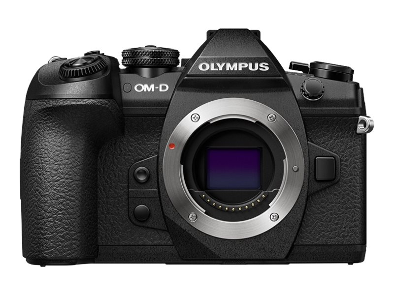 Olympus OM-D E-M1 Mark II Mirrorless Micro Four Thirds Digital Camera, Black (Body Only), V207060BU000