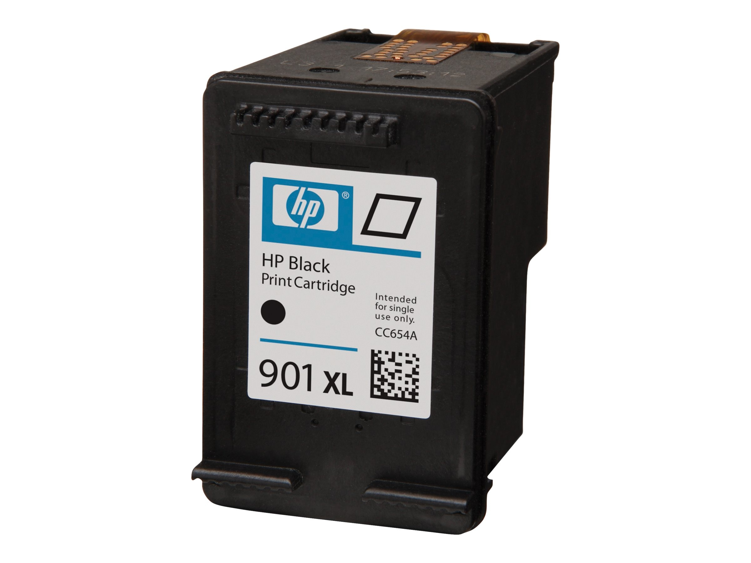 HP 901XL (CC654AN) High Yield Black Original Ink Cartridge, CC654AN#140, 8502620, Ink Cartridges & Ink Refill Kits