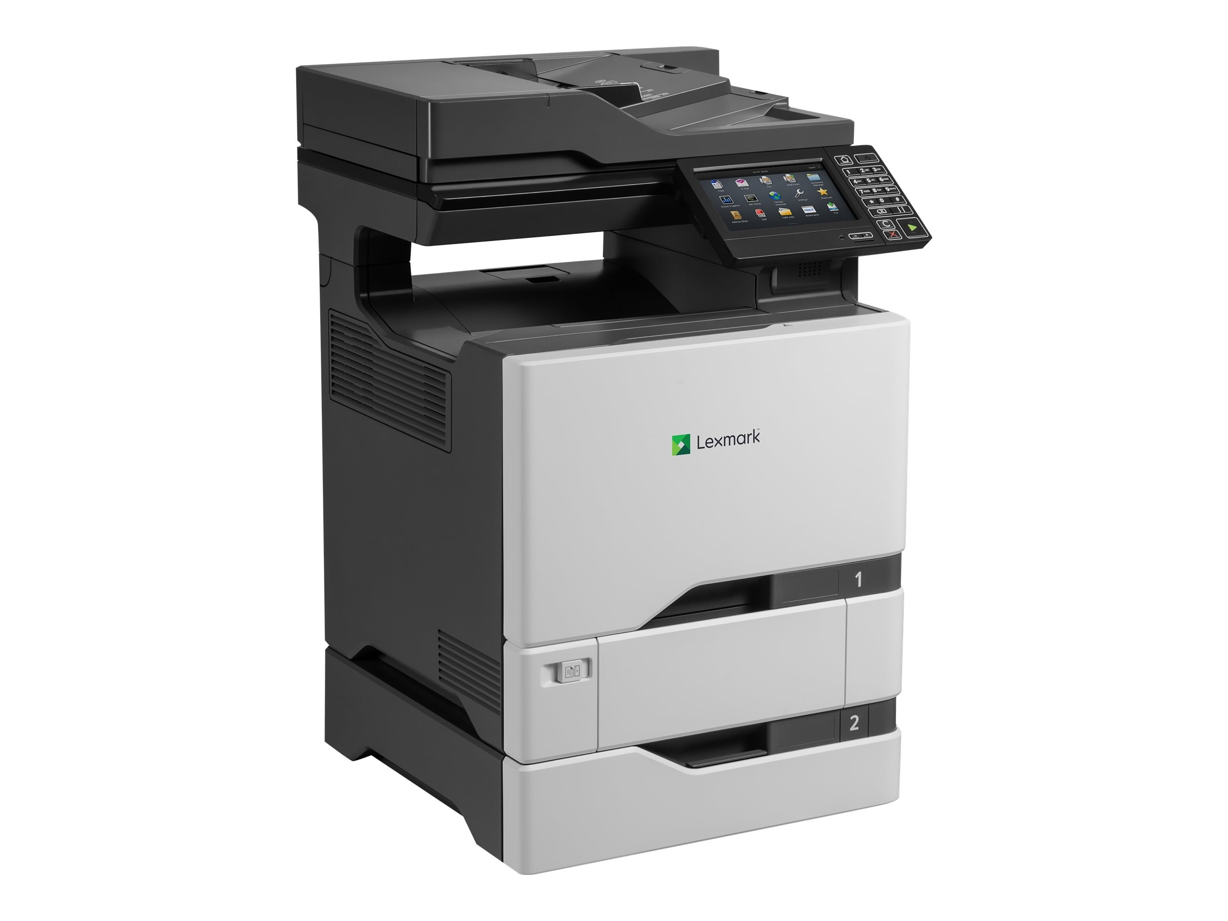 Lexmark CS725dte Color Laser Printer (TAA Compliant), 40CT019