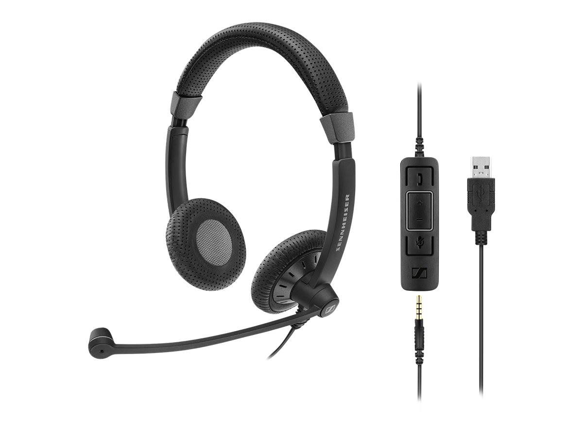 Sennheiser SC75 USB MS Headset, 507086