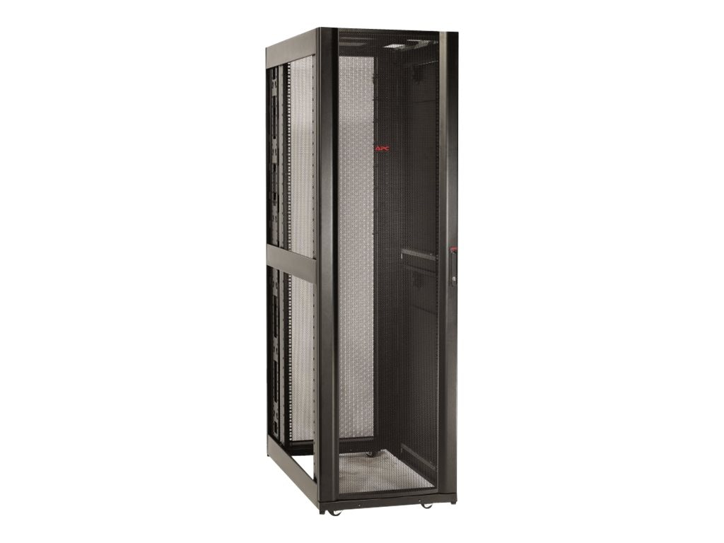 APC NetShelter SX 42U Enclosure, 600mm Wide x 1070mm Deep, Sides, Black, AR3100