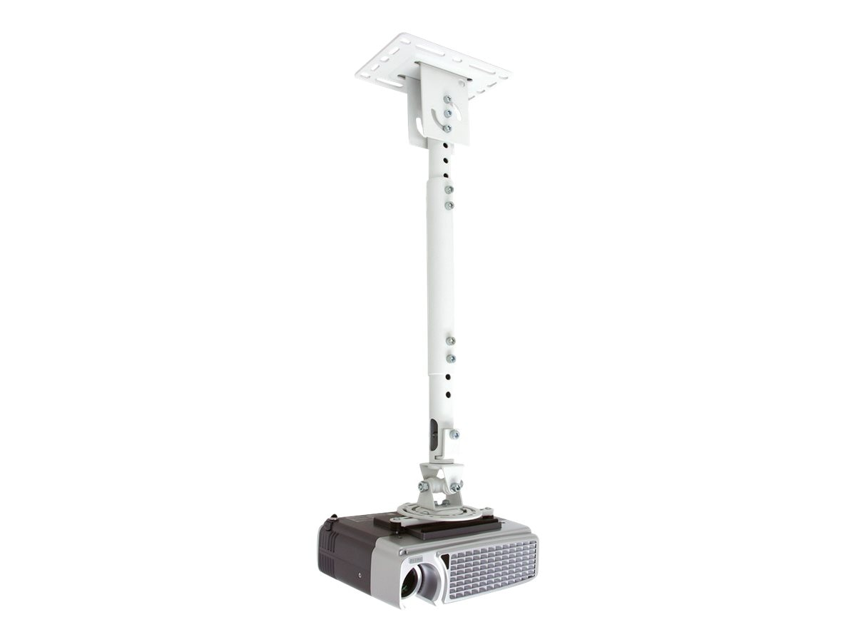 Atdec Telehook Projector Ceiling Mount, White, TH-WH-PJ-CM