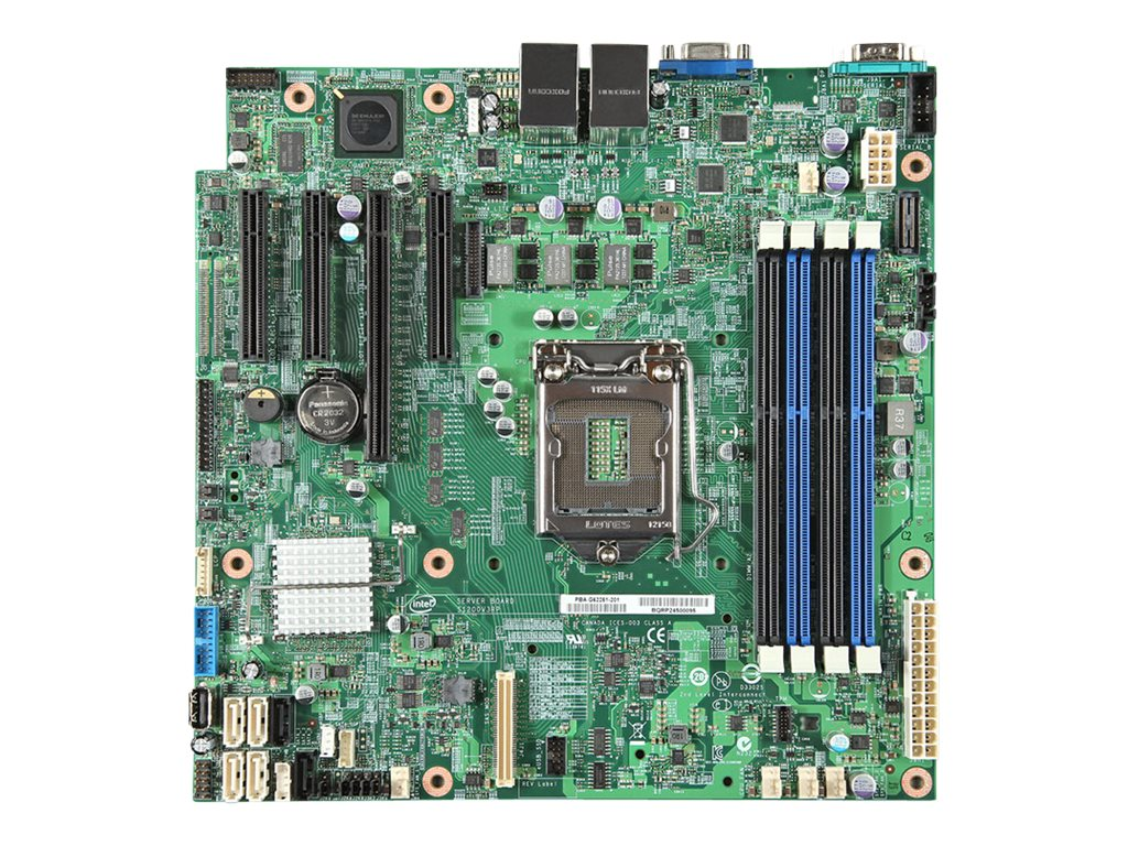 Intel Motherboard, MATX Tower S1150 Xeon Family SATA6, DBS1200V3RPL
