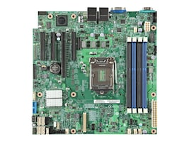 Intel Motherboard, MATX Tower S1150 Xeon Family SATA6, DBS1200V3RPL, 15982975, Motherboards