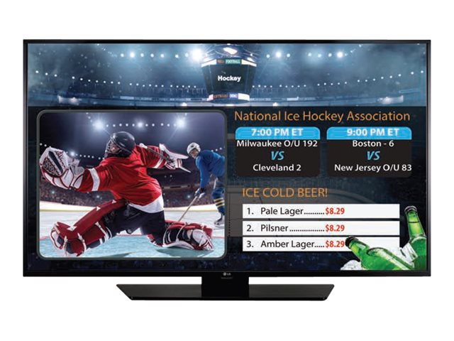LG 43 LX540S Full HD LED-LCD SuperSign TV, Black, 43LX540S, 30597573, Televisions - LED-LCD Commercial