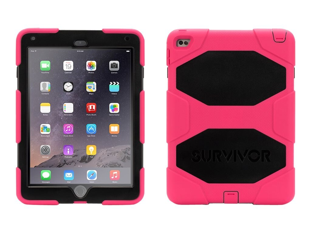 Griffin Survivor All-Terrain for iPad Air 2, Pink Black
