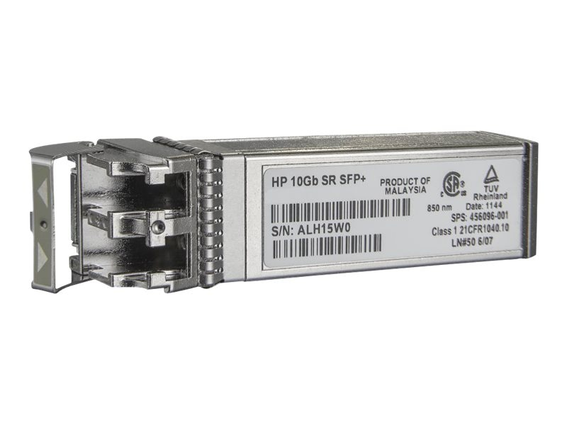 HPE BladeSystem c-Class 10Gb SFP+ SR Transceiver, 455883-B21, 9239835, Network Transceivers