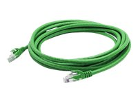 ACP-EP CAT6 24AWG STP Snagless Shielded Patch Cable, Green, 6ft