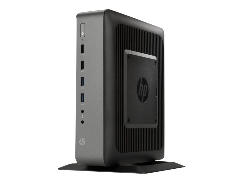 HP t620 PLUS Flexible Thin Client AMD QC GX-420CA 2.0GHz 4GB RAM 16GB Flash GbE abgn ac WES7E