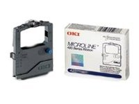 Oki Black Print Ribbon for the Okidata ML420 421 & ML490 ML491, 42377801, 423653, Printer Ribbons