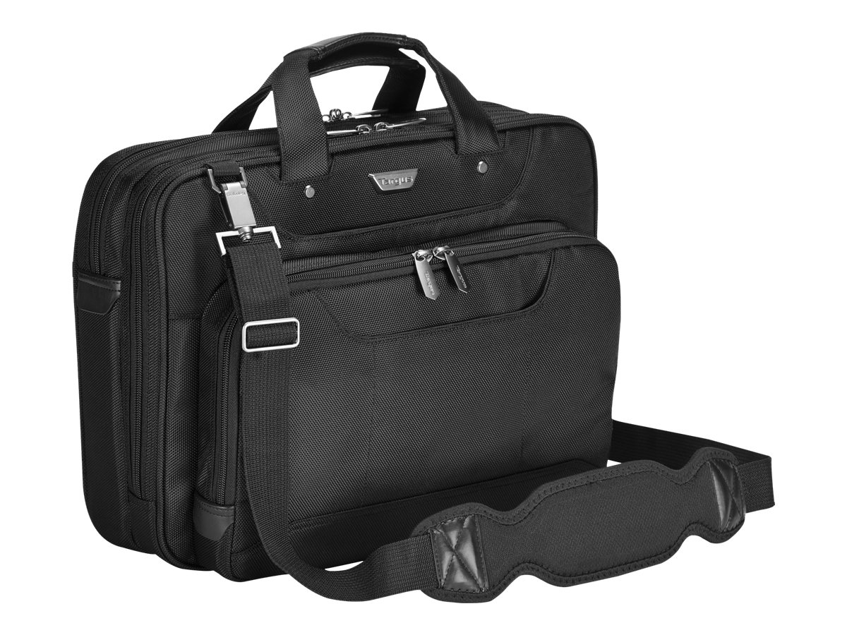 Targus Corporate Traveler Ultra Light Notebook Case, for 14 Screen, Black, CUCT02UA14, 7525731, Carrying Cases - Notebook