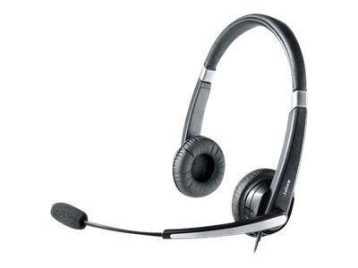 Jabra UC VOICE 550 Duo MS Corded Headset, 5599-823-109, 13353171, Headsets (w/ microphone)