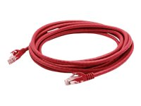 ACP-EP CAT6 24AWG STP Snagless Patch Cable, Red, 10ft