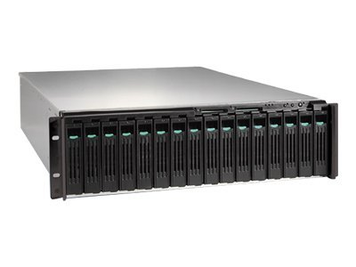 Intel Storage System SSR316MJ2 - NAS - 500GB - rack-mountable - Serial ATA-150 - HD 250GB x 2 - 3U, SSR316MJ2NA, 7480289, Network Attached Storage