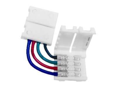 Calrad 4-Wire 90-Degree RGB LED Coupler, 92-328