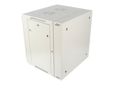 StarTech.com DuraRak 12U Hinged Wall Mount Cabinet, Vented Glass Door