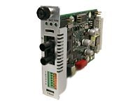 Transition RS422 485 Copper to Fiber Media Converter