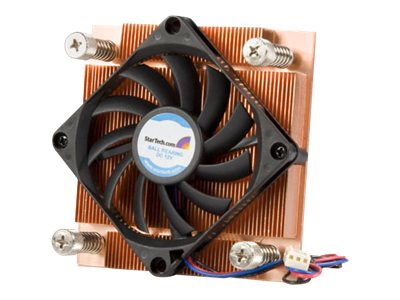 StarTech.com Cooler, 1U Intel Socket 775 CPU Heatsink with Fan, FAN7751U, 7460704, Cooling Systems/Fans