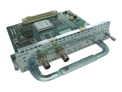 Cisco 1-Port T3 E3 ATM Network Module, NM-1A-T3/E3=, 8023021, Network Device Modules & Accessories