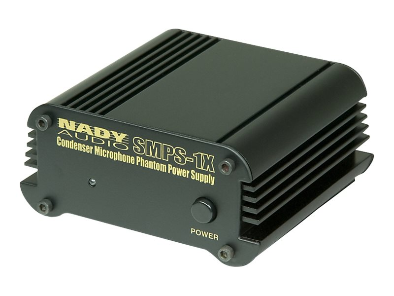 Nady 1-Channel 48V Phantom Power Supply for SCM Series, SMPS-1X, 17828066, AC Power Adapters (external)