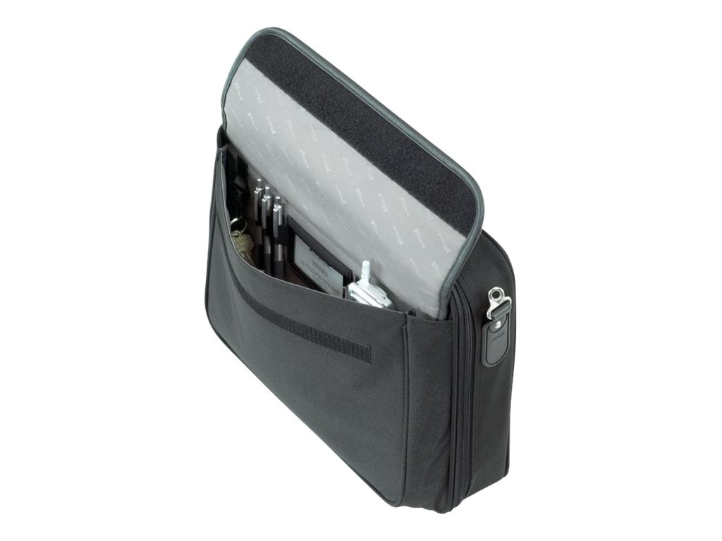 Targus Traditional Notepac Notebook Case, Fits 15.6 Screen, Black, OCN1, 13508356, Carrying Cases - Notebook