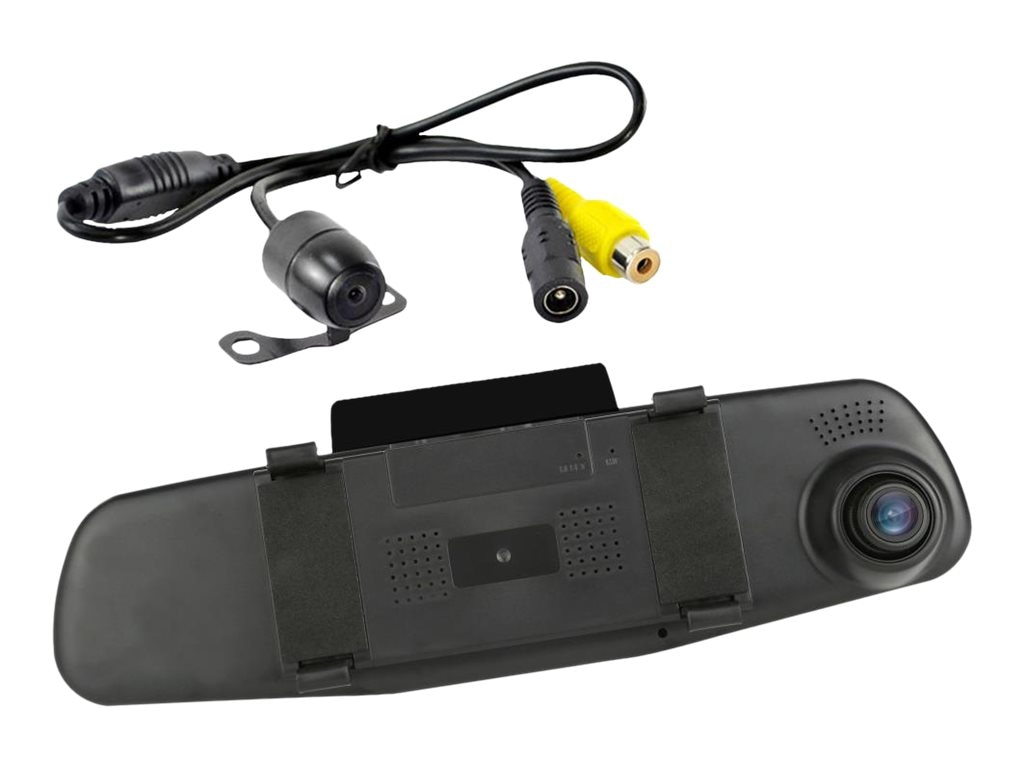 Pyle DVR Camera & Monitor Recording System Dual Camera 1080P 4.3, PLCMDVR47