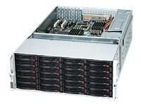 Supermicro SuperChassis 847E26 4U Chassis, Black, CSE-847E26-R1K28LPB, 14553600, Cases - Systems/Servers
