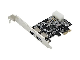 ACP-EP Dual Open USB 3.0 Port PCIe x1 Host Bus Adapter, ADD-PCIE-2USB30, 23203396, Host Bus Adapters (HBAs)