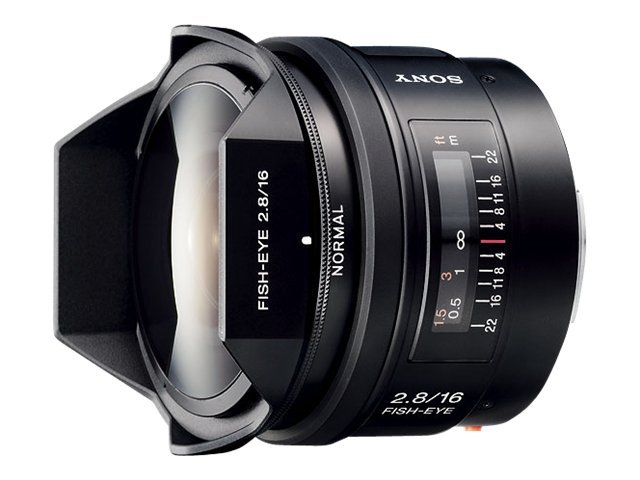 Sony 16mm f2.8 Fisheye Lens, SAL16F28, 6879503, Camera & Camcorder Lenses & Filters