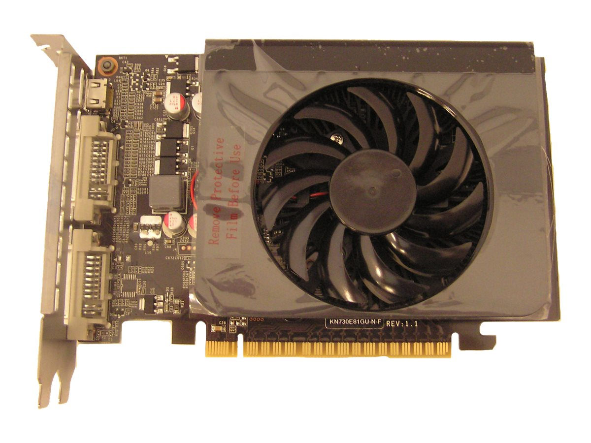 Jaton GeForce GT 730 PCIe 2.0 x16 Graphics Card, 1GB DDR3