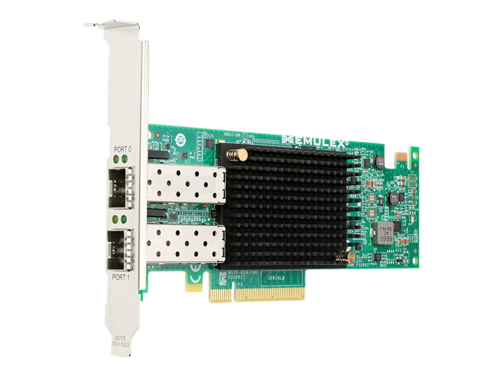 Lenovo Emulex VFA5 2x10GbE SFP+ Adapter and FCoE iSCSI SW for IBM System x, 00JY830