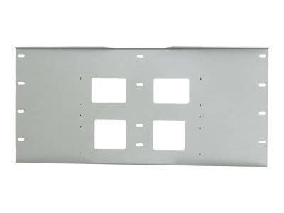 Peerless 16 Wall Plate for PLA Series, Black, WSP716, 7361423, Stands & Mounts - AV