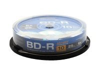 Aleratec 6x BD-R Media (10-pack), 370103, 12709480, Blu-Ray Media