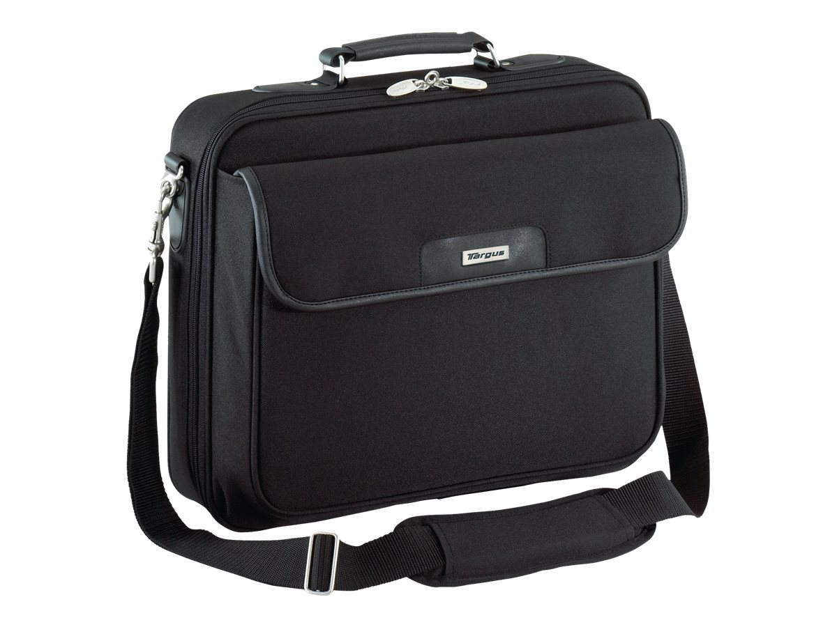 Targus Traditional Notepac Notebook Case, Fits 15.6 Screen, Black, OCN1