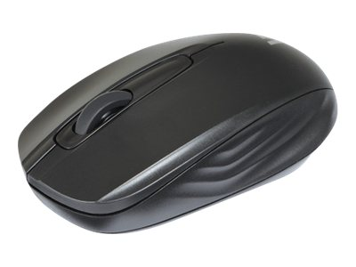 V7 Wireless Mobile Optical Mouse Compact-size 3-button 1200dpi 2.4Ghz, Black, MV3040-24G-BLK-15NB