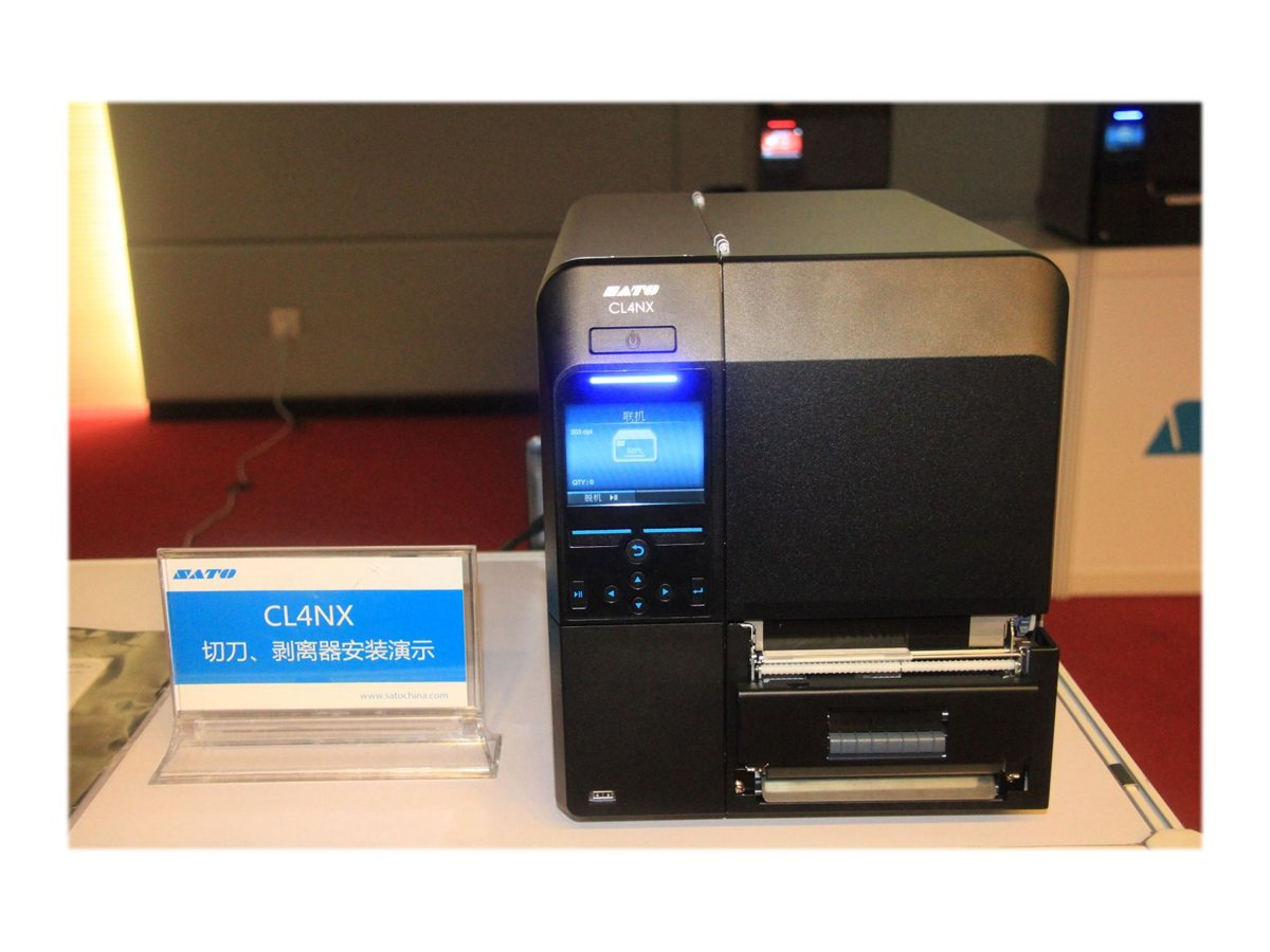 Sato CL424NX UHF RFID Printer w  Dispenser