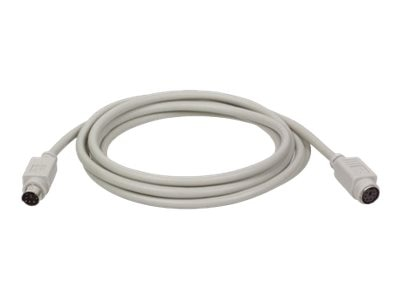 Tripp Lite PS 2 Keyboard Mouse Extension Cable, 50ft, P222-050, 9764630, Cables