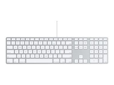 Apple Keyboard with Numeric Keypad, MB110LL/B, 13055668, Keyboards & Keypads