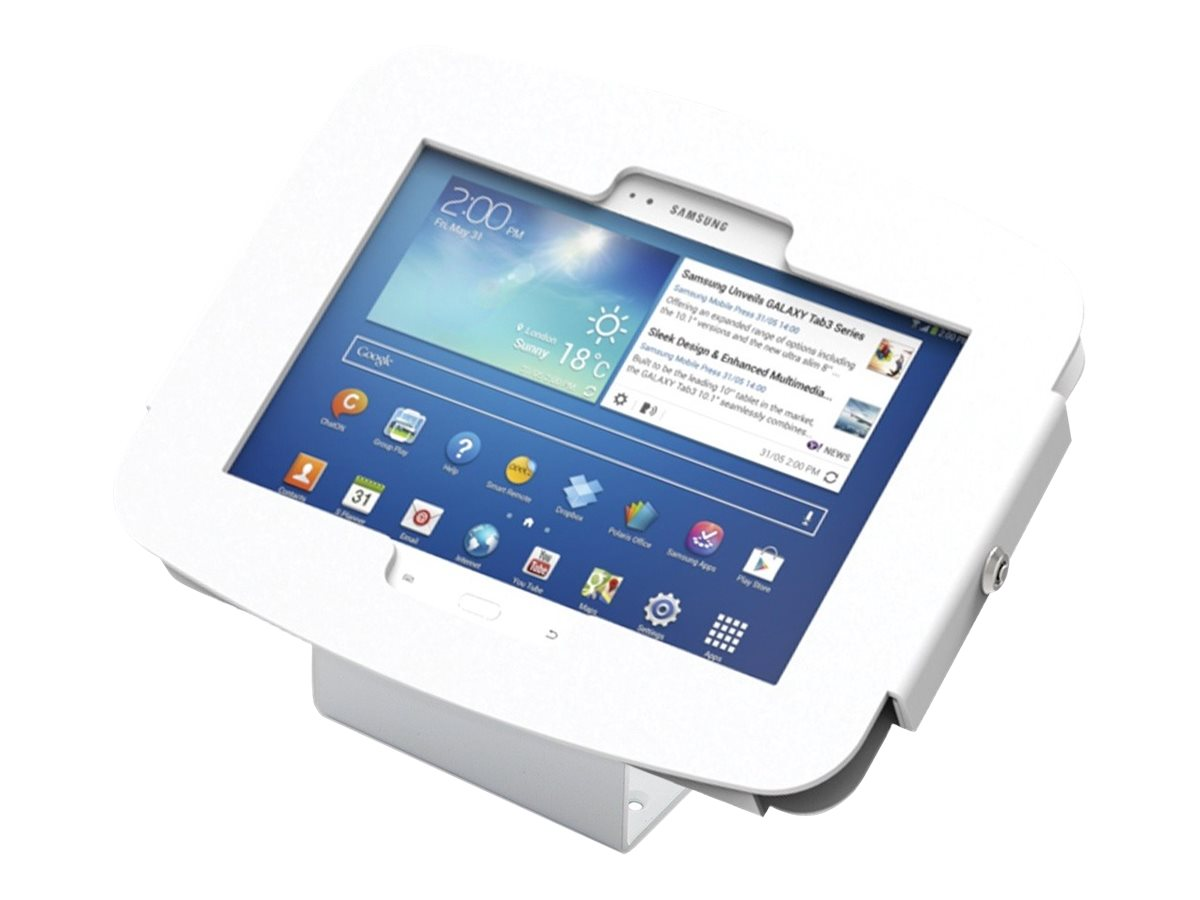 Compulocks Galaxy Space Kiosk Enclosure, White