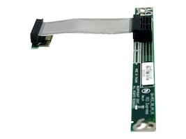 StarTech.com PCI Express Riser Card x1 Left Slot Adapter 1U with Flexible Cable, PEX1RISERF, 12376646, Motherboard Expansion