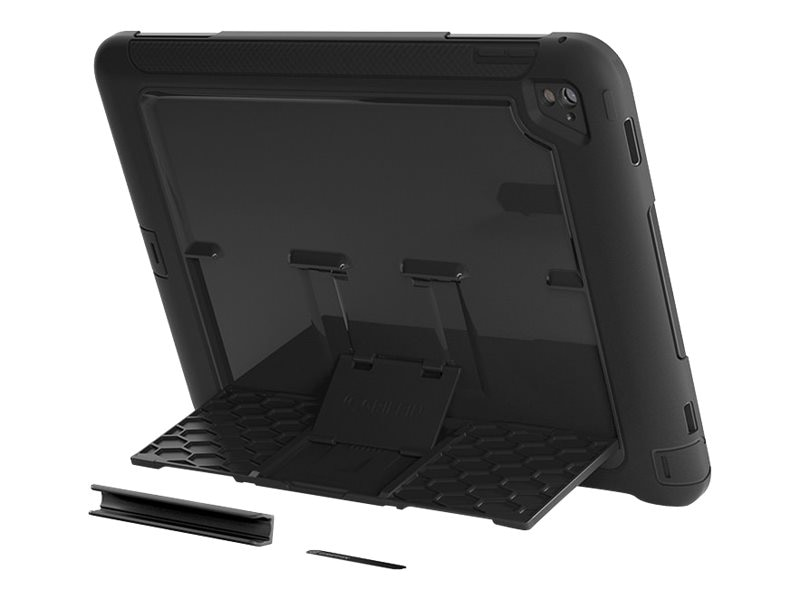 Griffin Survivor Slim for Apple iPad Pro 9.7, Black, GB41875, 31866931, Carrying Cases - Tablets & eReaders