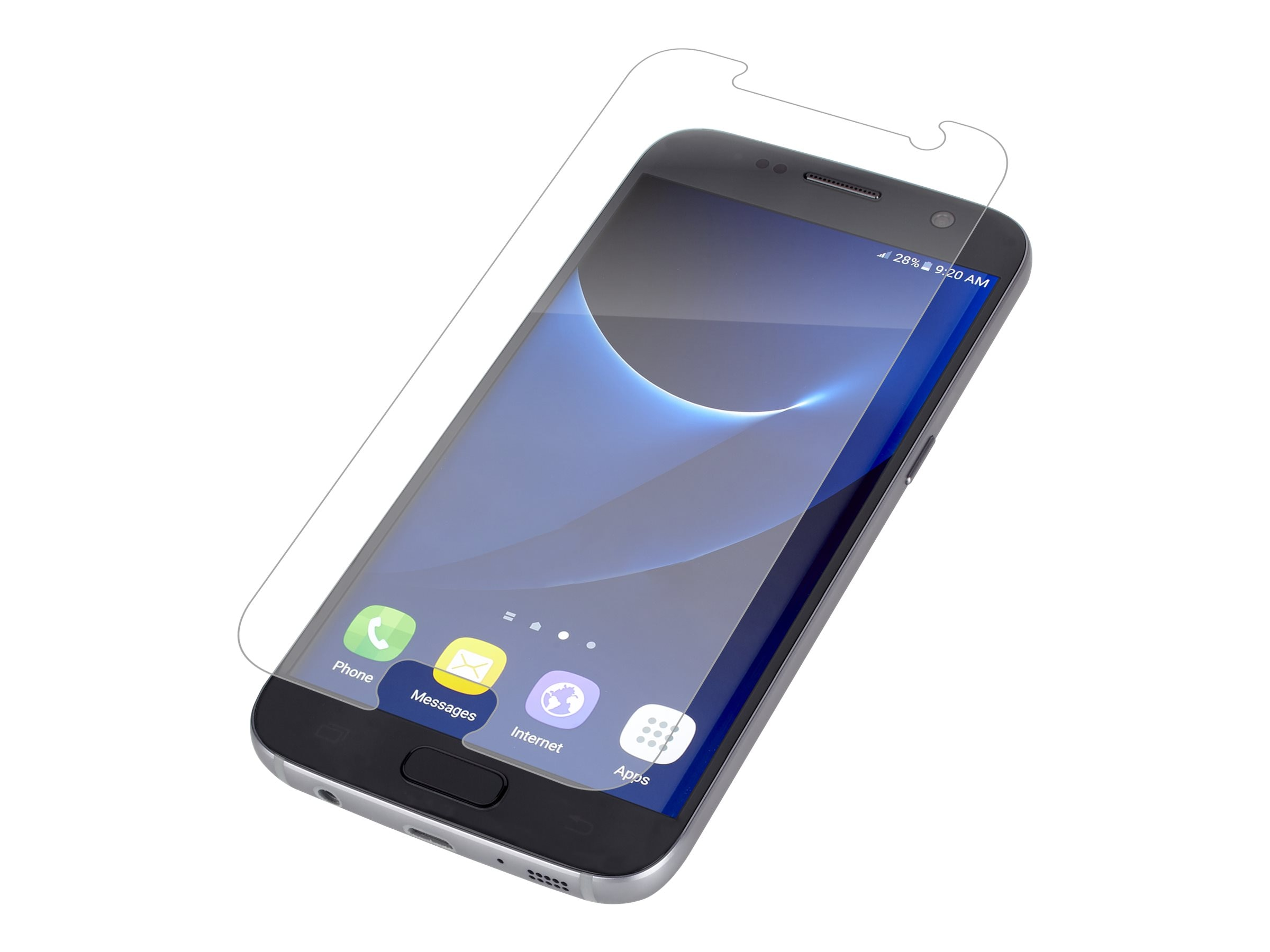 Zagg invisibleSHIELD Screen Protector for Samsung Galaxy S7, GS7GLS-F00