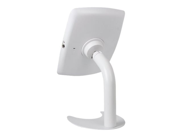 Joy Factory Elevate Aloft Countertop Kiosk for iPad Air Air 2, iPad 2 3 4, White