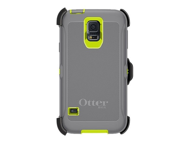OtterBox Defender Kick for Samsung Galaxy S5, Citron, 77-39170, 17688761, Carrying Cases - Phones/PDAs