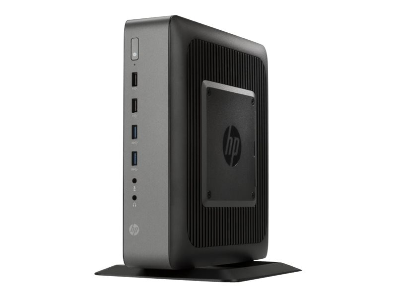 HP t620 PLUS Flexible Thin Client AMD QC GX-420CA 2.0GHz 4GB RAM 16GB Flash GbE WE864, G6F32AA#ABA, 17425048, Thin Client Hardware