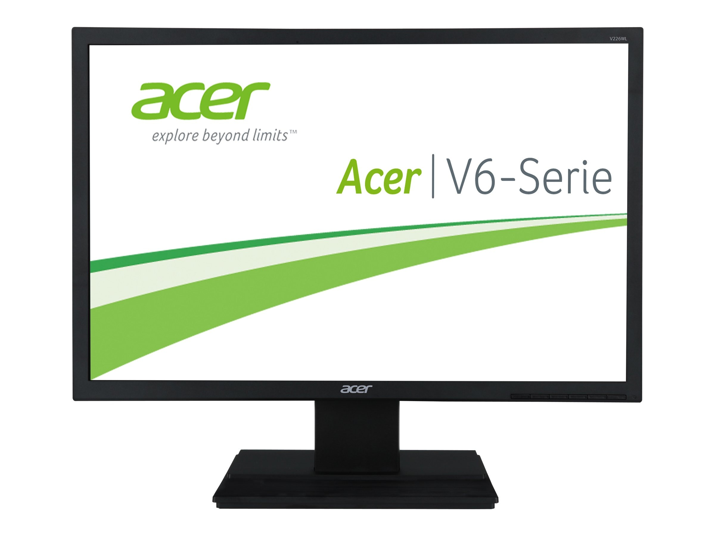 Acer 22 V226WL BD LED-LCD Monitor, UM.EV6AA.002, 15500032, Monitors - LED-LCD