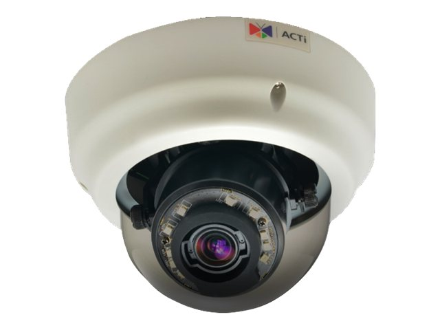 Acti B64 1.3MP Day Night Basic WDR Indoor Zoom Dome Camera