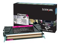 Lexmark Magenta Return Program Toner Cartridge for C746 & C748 Color Laser Printer Series, C746A1MG, 14012758, Toner and Imaging Components