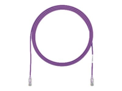 Panduit Cat6 28AWG UTP Patch Cable, Voilet, 3ft