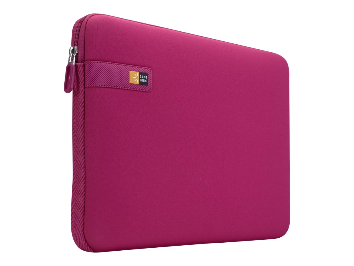 Case Logic 16 Laptop Sleeve, Pink, LAPS-116PINK, 13126497, Protective & Dust Covers
